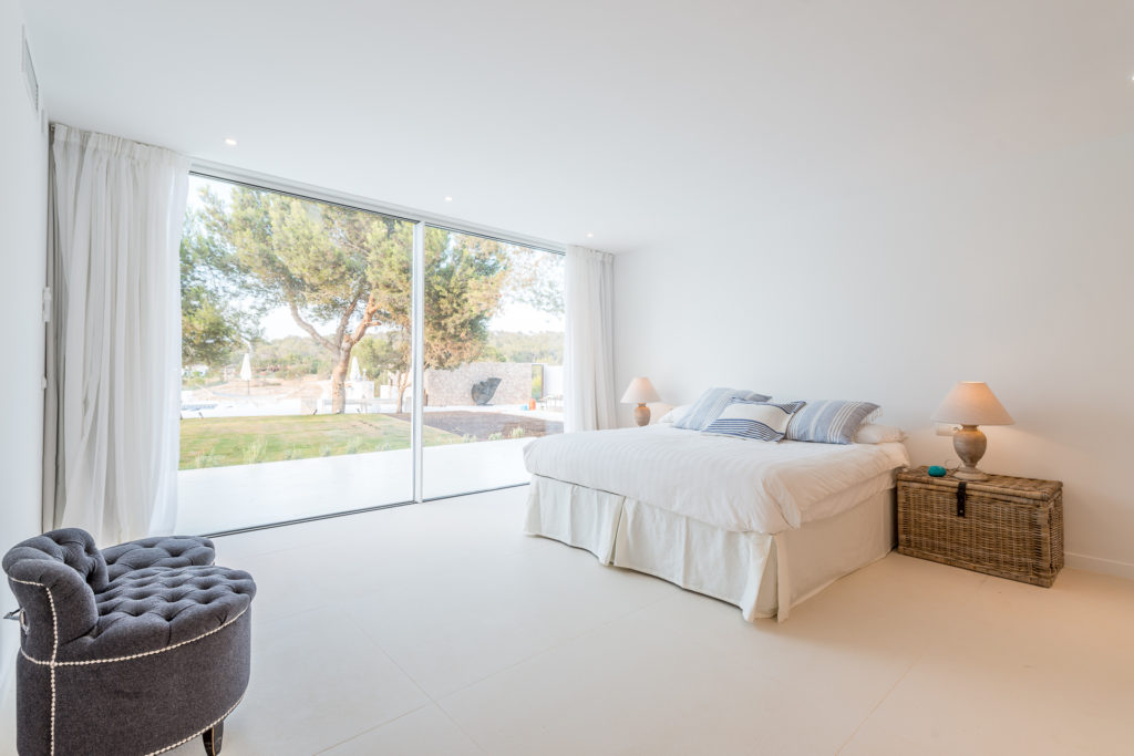Ibiza Bedroom Villa Minimal Modern Spacious Luxury