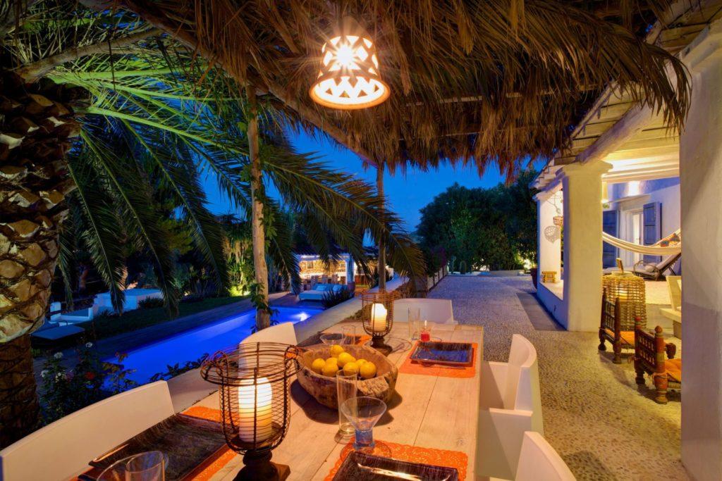 Ibiza Finca Rental Terrace Outdoor