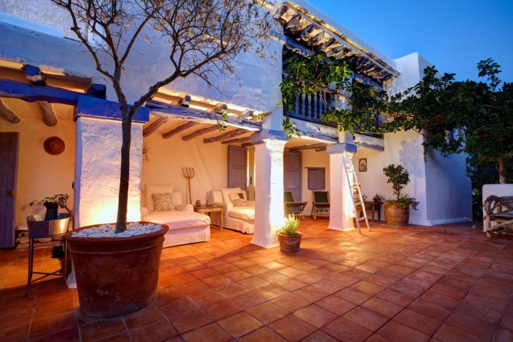 Ibiza Finca Rental Terrace Outdoor Spaceous