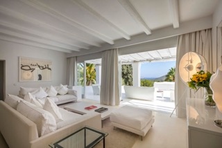 Ibiza Luxury Properties Porroig Living Room With Views