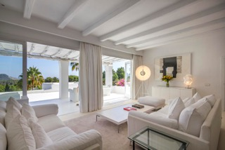 Ibiza Luxury Properties Porroig Living Room