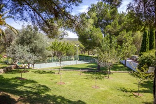 Ibiza Luxury Properties Porroig Tennis Court