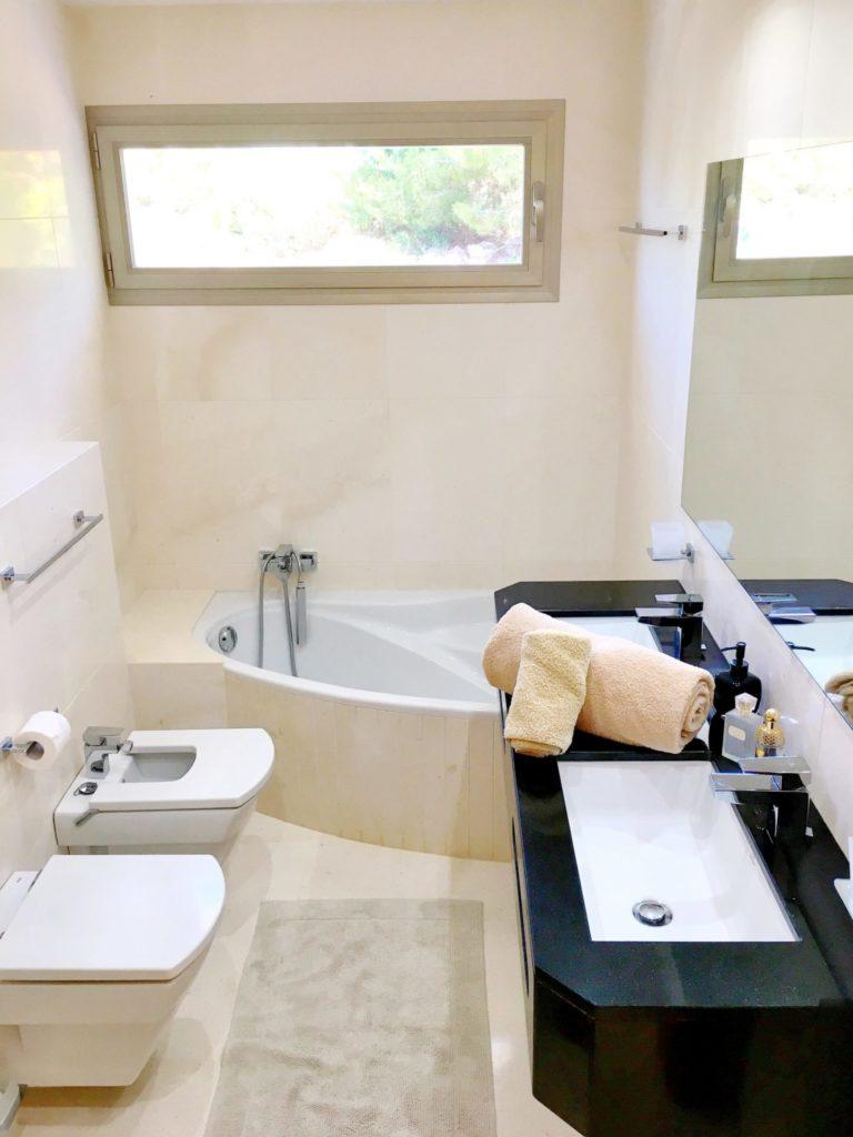 Ibiza Private Villas Villa Esteban Bathroom With Bathtub