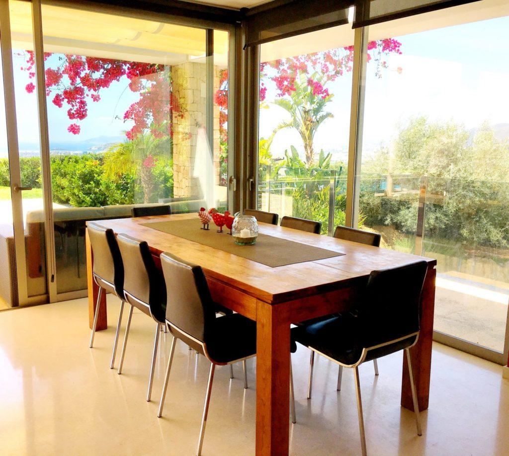 Ibiza Private Villas Villa Esteban Indoor Dining Area