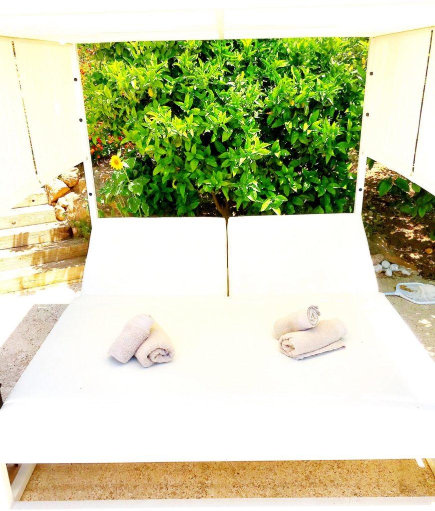 Ibiza Private Villas Villa Esteban Lounge Sunbeds
