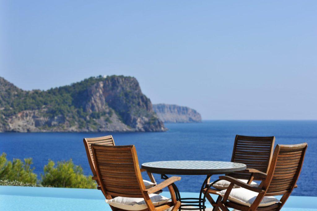 Ibiza Private Villas Buena Sombra Pool Sea View