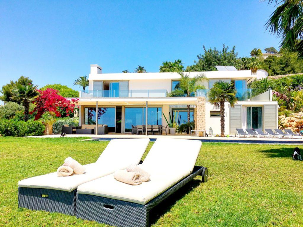 Ibiza Private Villas Villa Esteban Outside Chill Out Area
