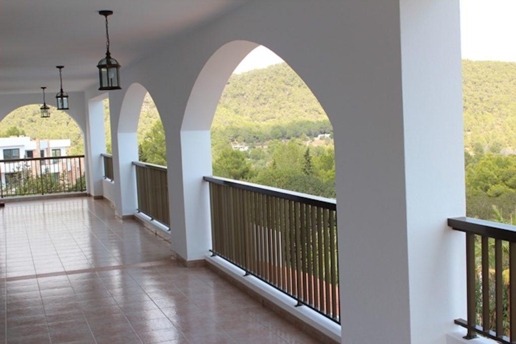 Ibiza Villa Balcony Terrace Arches
