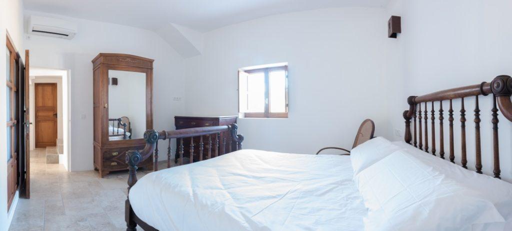 Ibiza Villa Bedroom Chic White