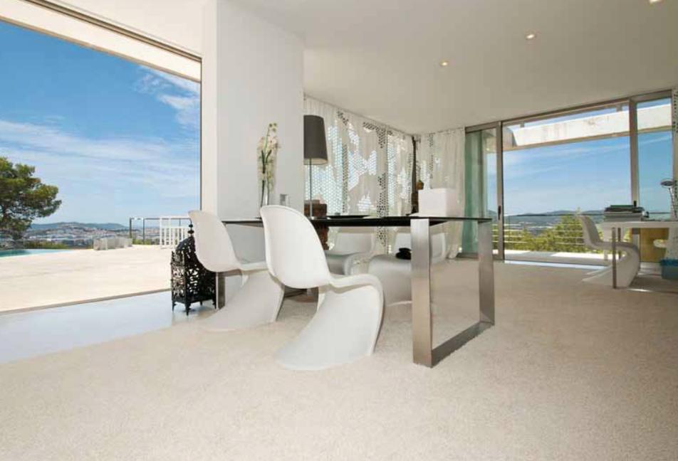 Ibiza Villa Desk Views Amazing Luxury