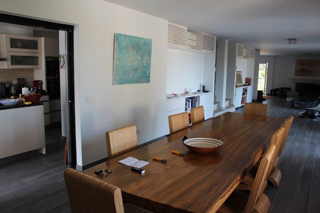 Ibiza Villa Dining Table Room Wood Long