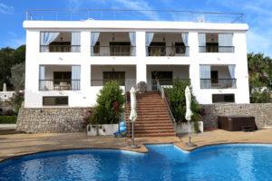 Ibiza Villa Exterior Pool Stairs