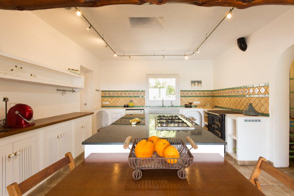 Ibiza Villa Finca Cosy Charming Stunning Luxury Character Modern Art Kitchen