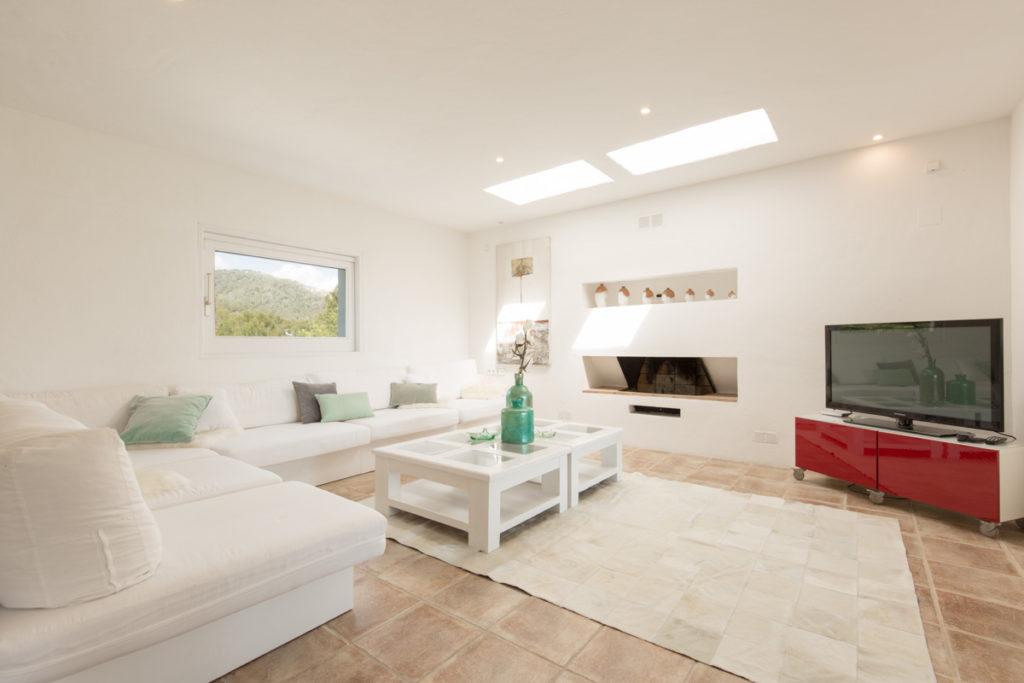 Ibiza Villa Finca Cosy Charming Stunning Luxury Character Modern Living Area