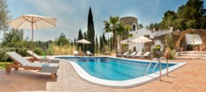 Ibiza Villa Finca Outdoor Traditional Pool