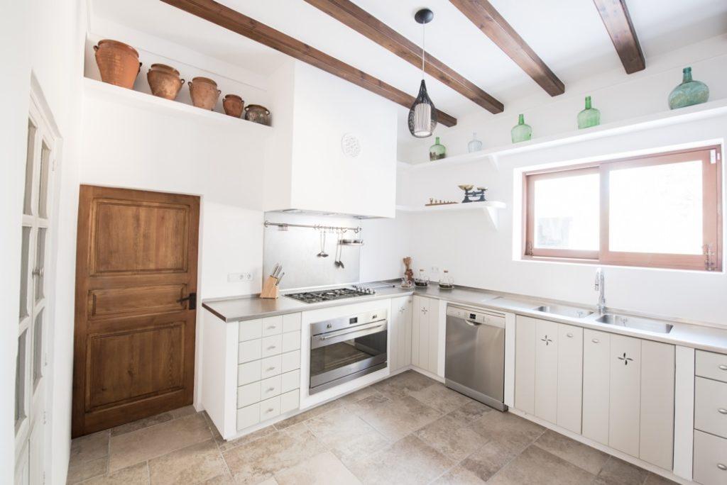 Ibiza Villa Finca Style Kitchen