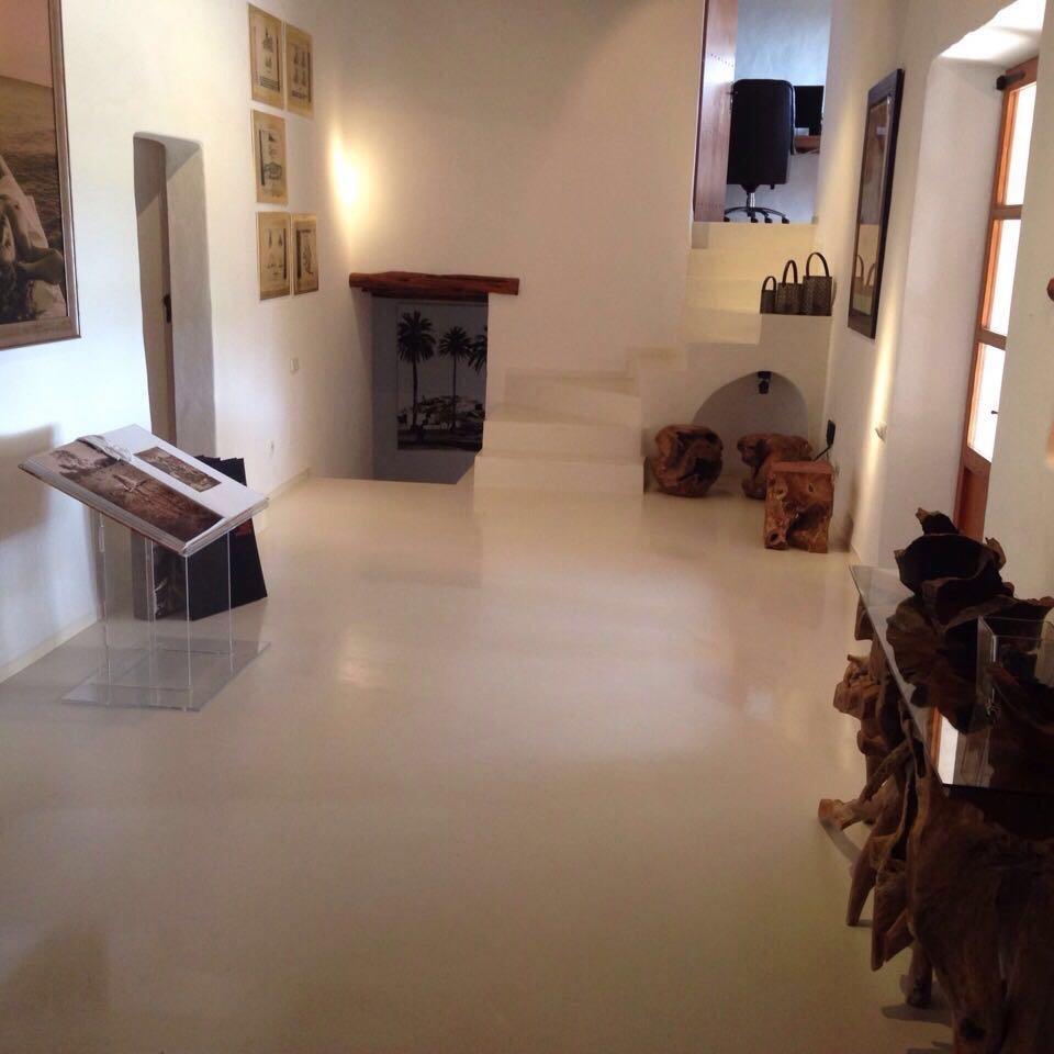 Ibiza Villa Hallway