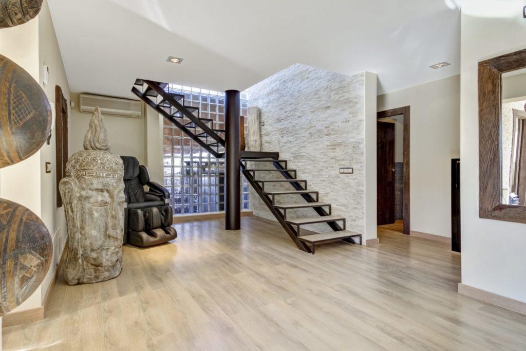 Ibiza Villa Interior Spacious Minimal Modern Steps