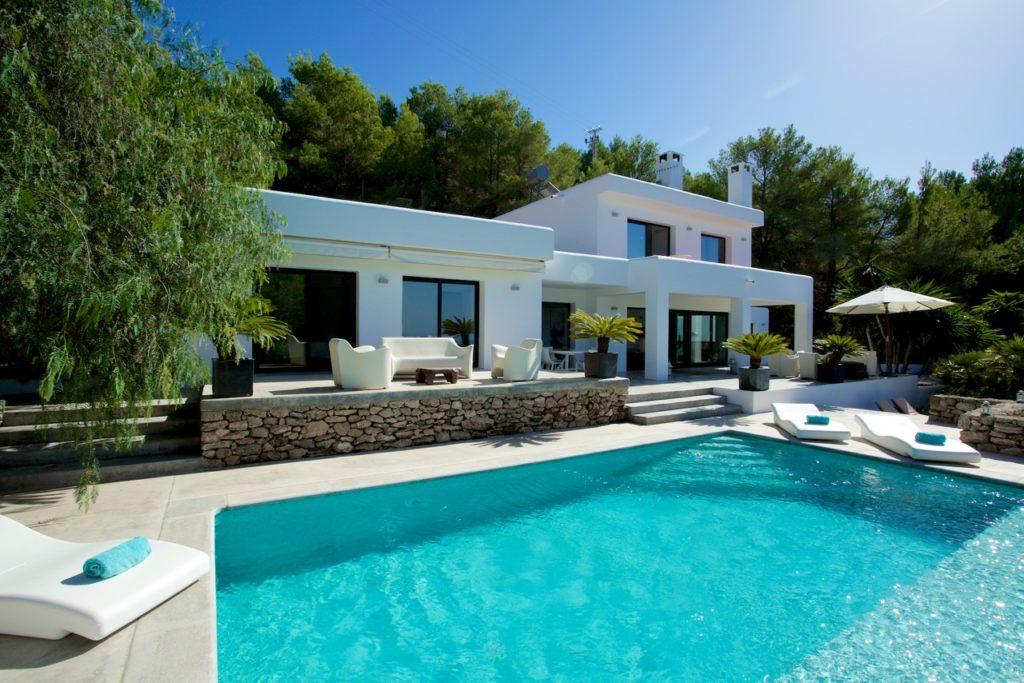 Ibiza Villa Pool Beautiful Modern