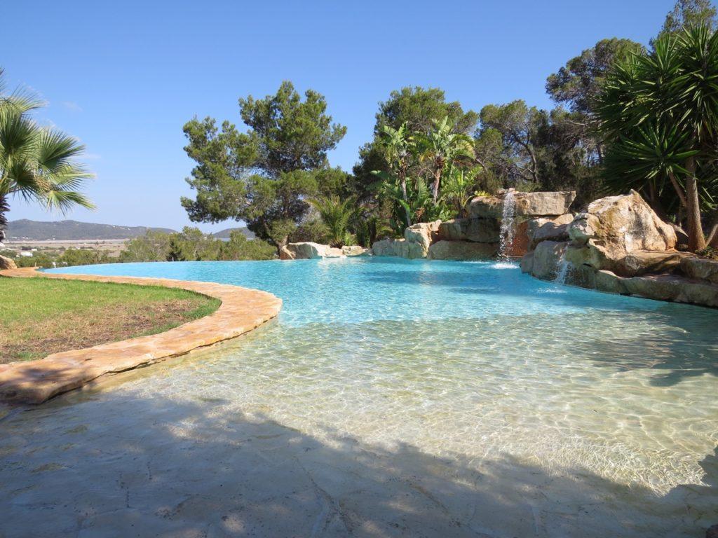 Ibiza Villa Pool Counryside Tranquil Fun Swim