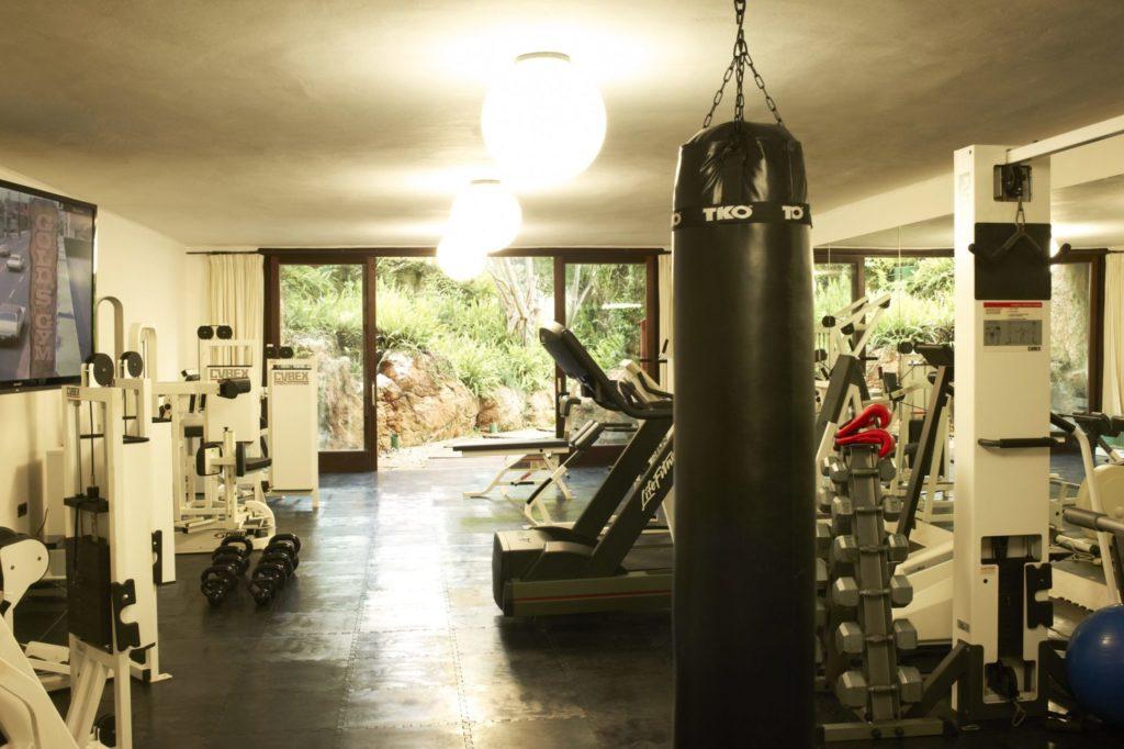 Ibiza Villa Private Gym