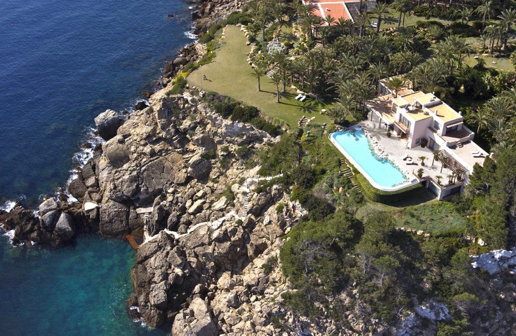 Ibiza Villa Rentals Luxury Blue Bay View