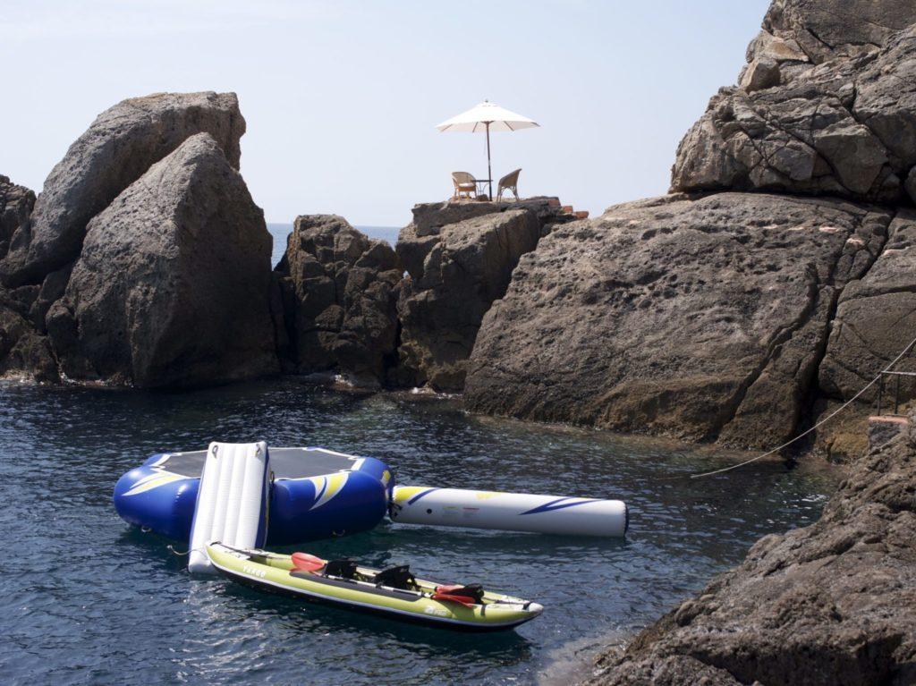 Ibiza Villa Rentals Luxury Blue Bay Watersports Seatoys Sea Lounge