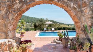 Ibiza Villa Rustic Gateway Pool Relax