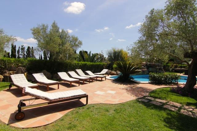 Ibiza Villa Sun Lounger