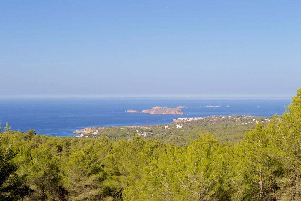 Ibiza Villa View Sea Trees Nature Exclusive