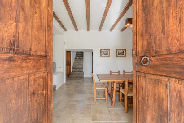 Inside Living Ibiza Wooden Beams Finca Doors