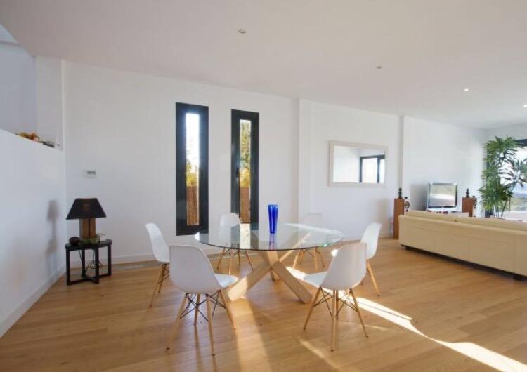 Interior Ibiza Villa Modern Dining Room