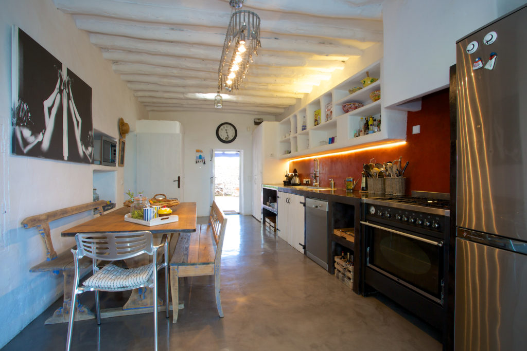 Kitchen Dining Finca Ibiza Modern