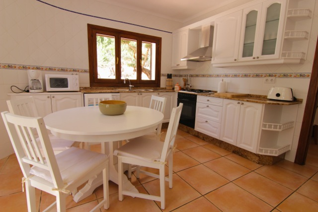 Kitchen Villa Ibiza
