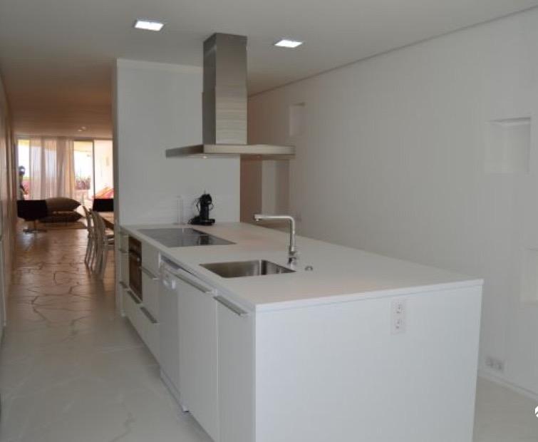 Kitchen Villa Modern New Ibiza Villa Open