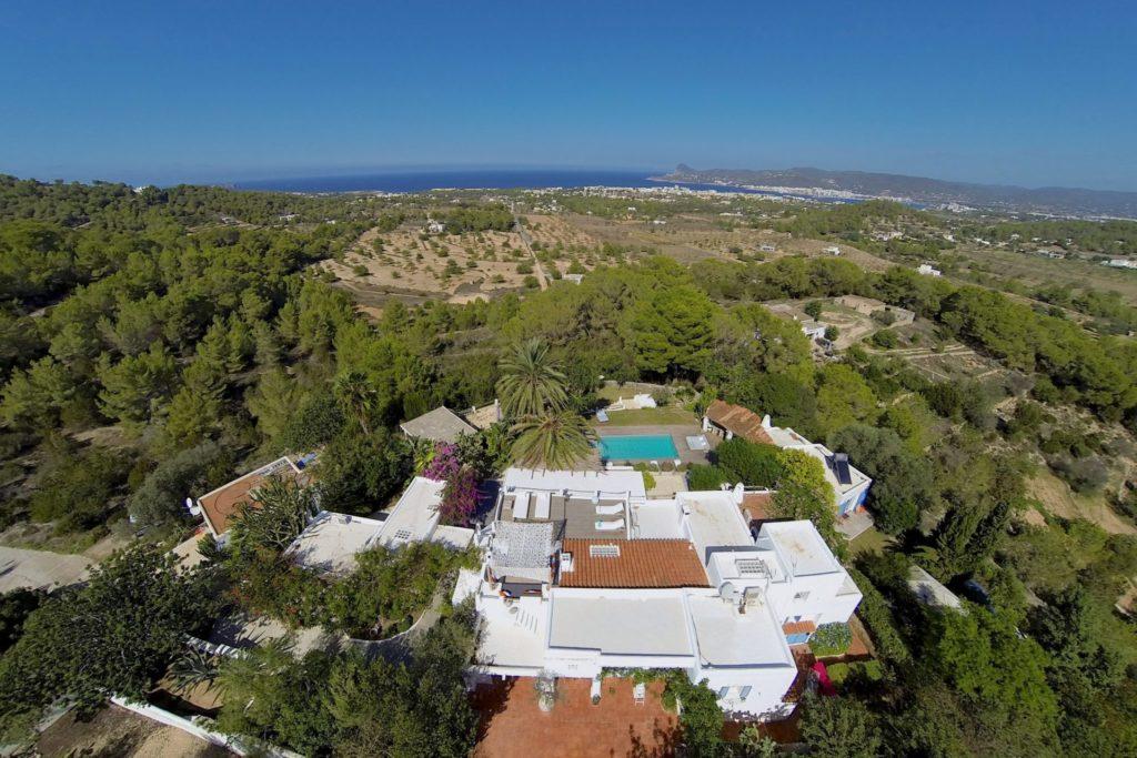Large Amazing Location Property Ibiza Villa Swimming Pool