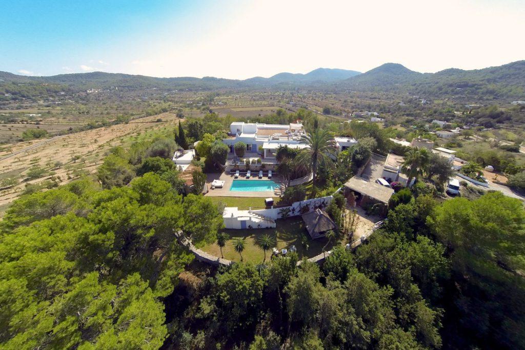Large Swimming Pool Amazing Location Property Ibiza Villa