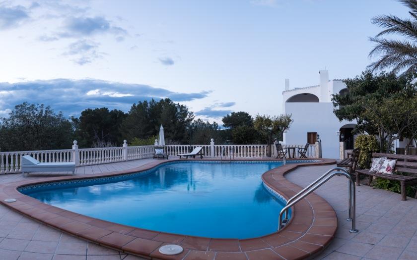 Large Swimming Pool Wonderful Villa Ibiza