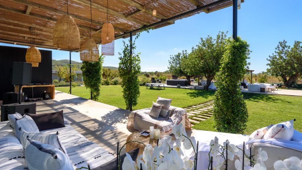 Lights Garden Exterior Amigos Los Pool Villa Ibiza
