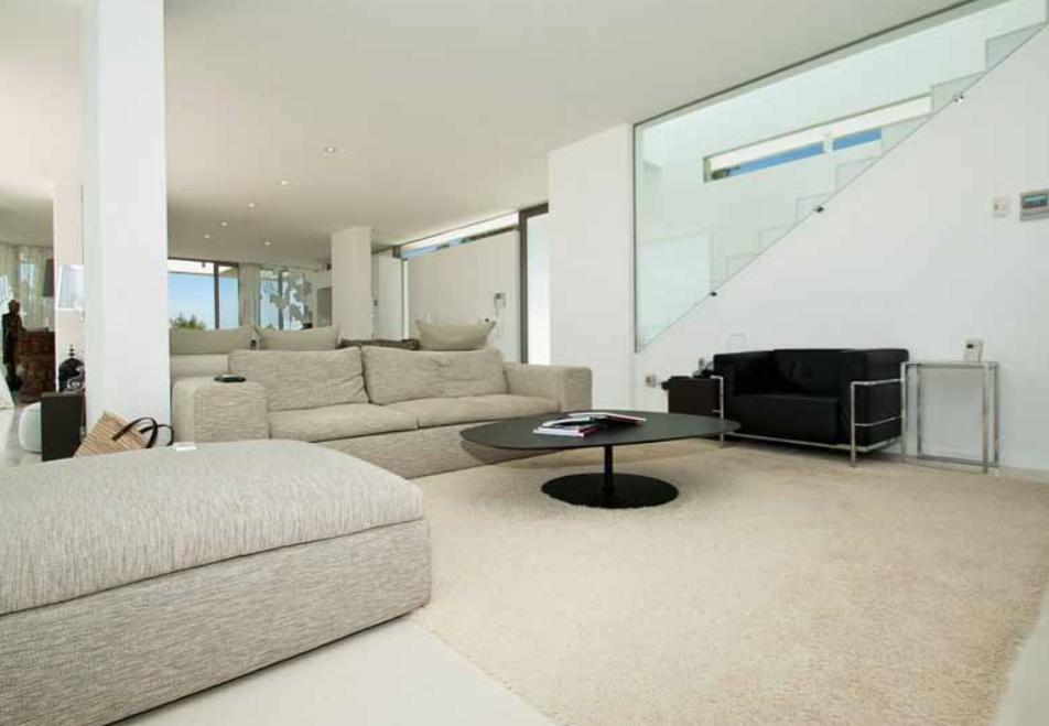 Living Room Modern Luxury Villa Ibiza