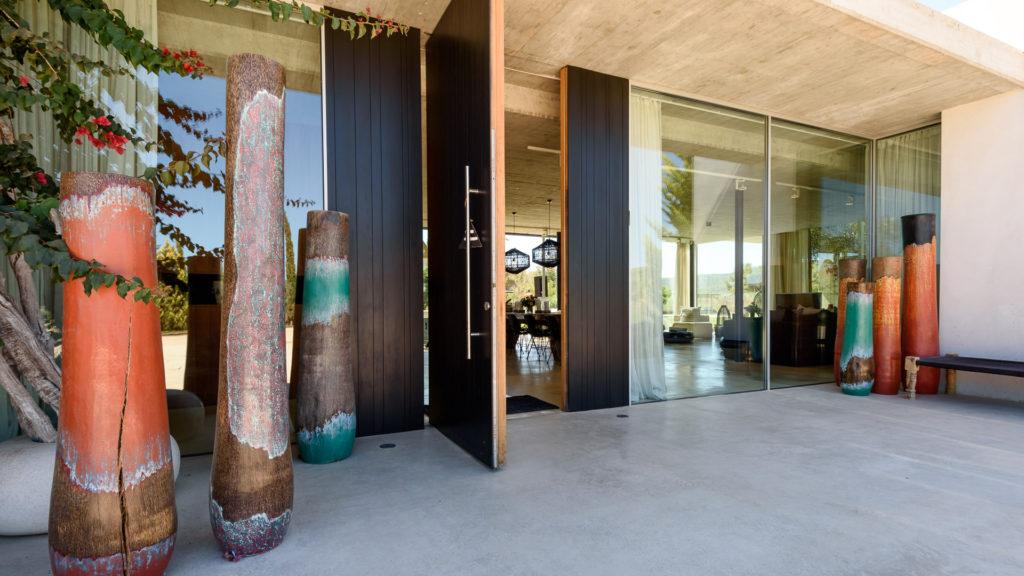 Los Villa Ibiza Amigos Front Door