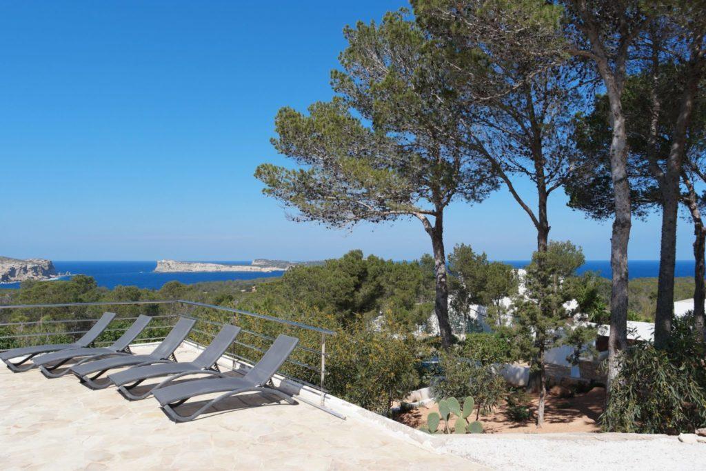 Lounge Area Garden Luxury Villa With Private Pool Ibiza