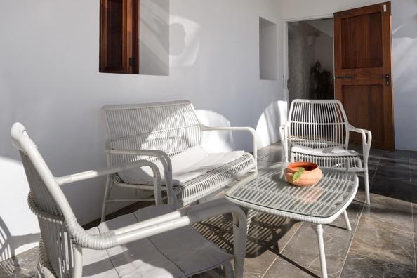 Lounge Area Ibiza Outside Villa