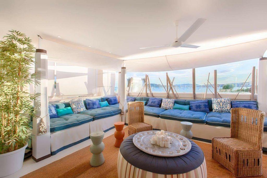 Lounge Area Luxury Holiday Villas Ibiza