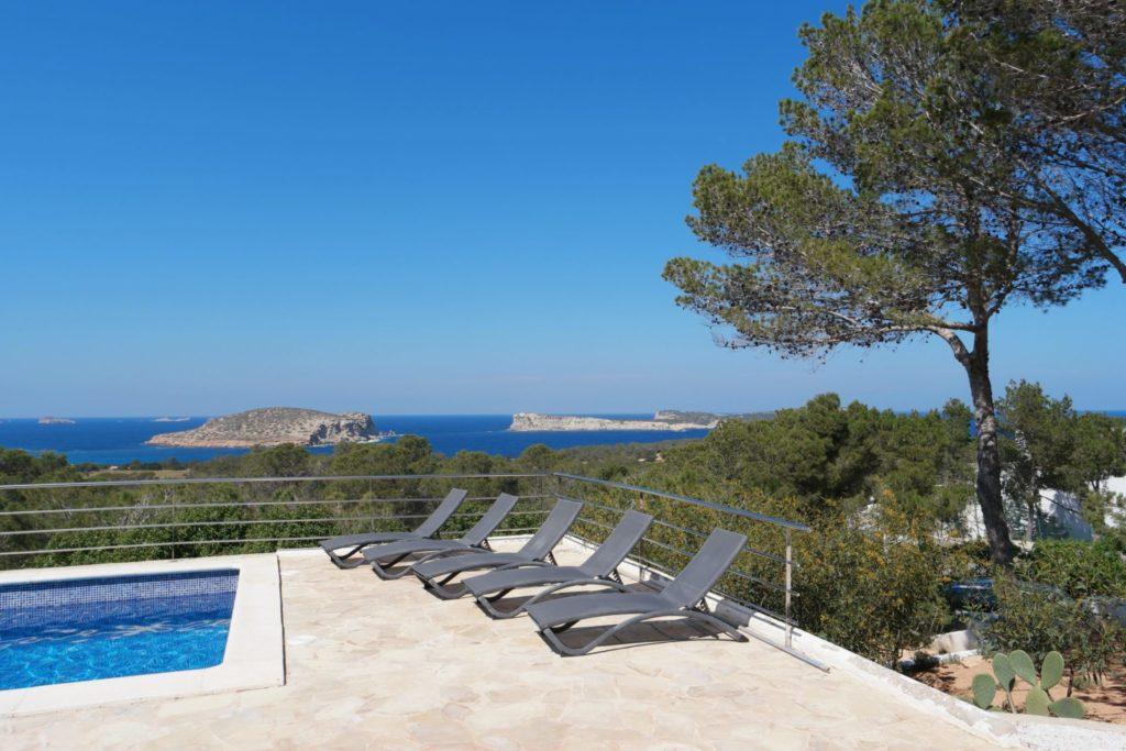 Lounge Garden Luxury Villa With Private Pool Ibiza