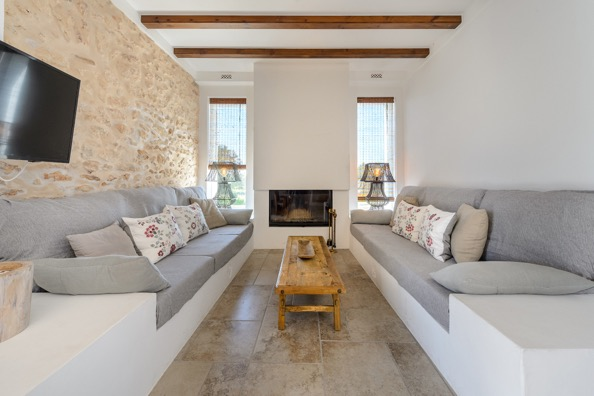Lounge Inside Villa Ibiza