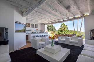Luxury Family Villas Ibiza Living Room Views
