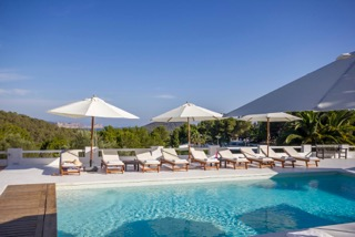 Luxury Family Villas Ibiza Pool Mountain Views