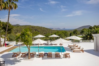 Luxury Family Villas Ibiza Poolside Area