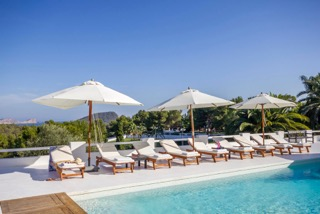 Luxury Family Villas Ibiza Poolside Jacuzzi